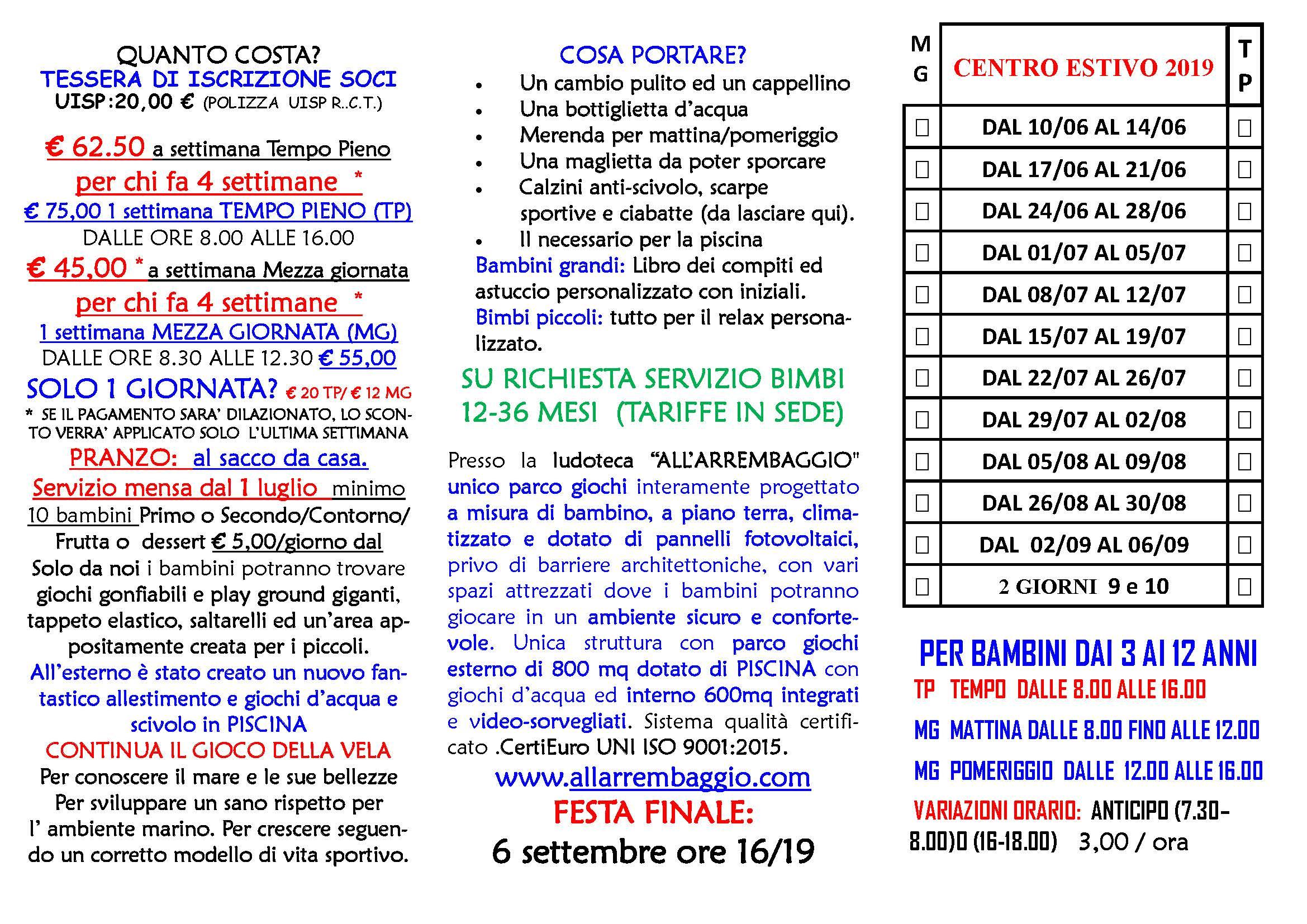 Centri Estivi Ricreativi Per Bambini A Padova Ludoteca All
